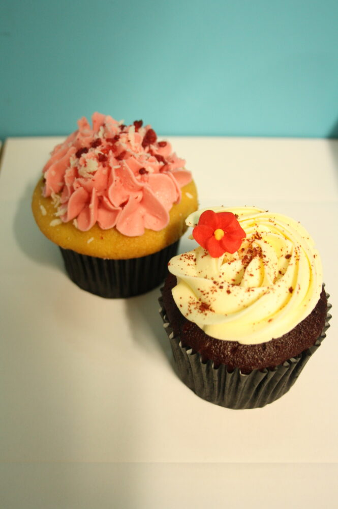 Cupcake 2 pack - flavour will vary